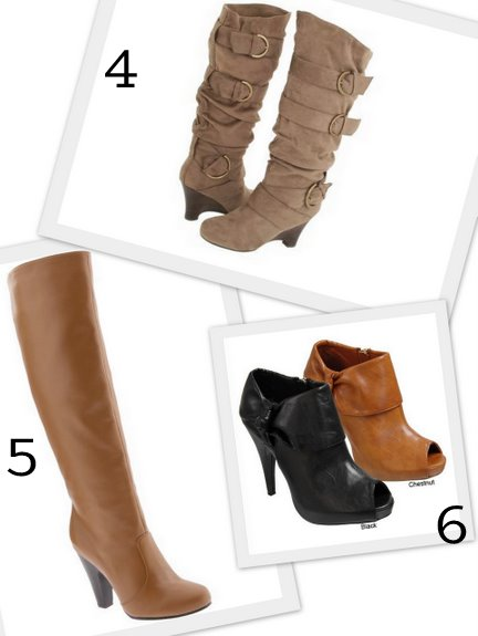 fall boots for 2010