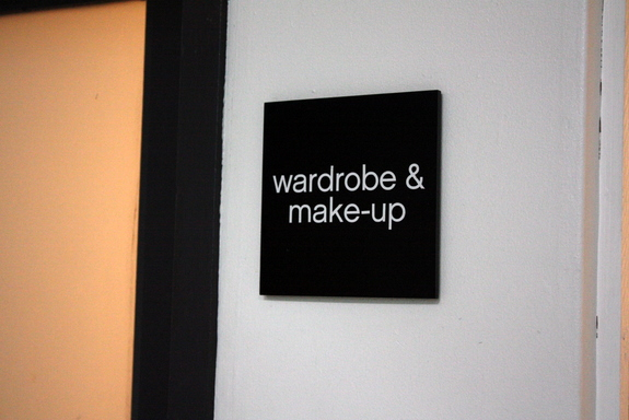 make-up and wardrobe