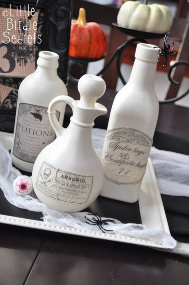 halloween potion bottle