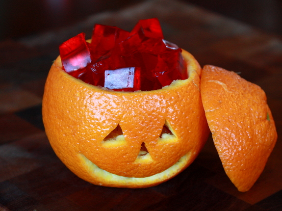 how to make a pumpkin orange