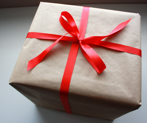 cute present wrapping