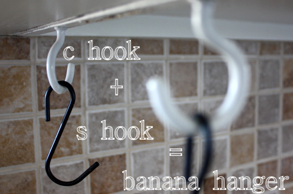 banana hanger for your kitchen