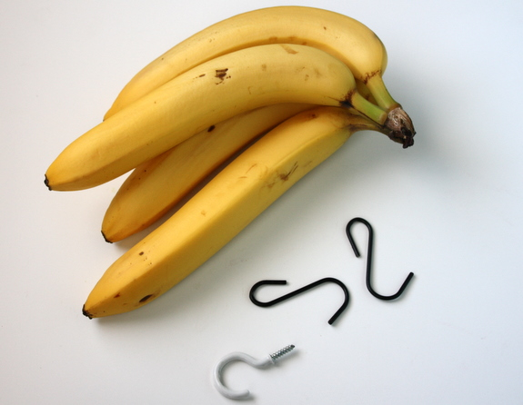 how to make a banana hanger