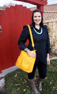 what I wore wednesday black and black