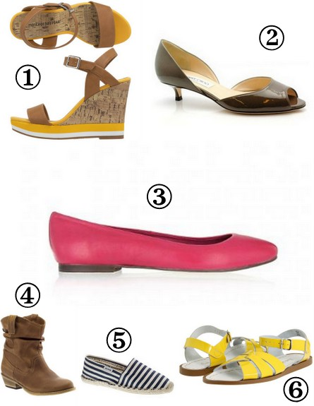 shoes to wear for Spring