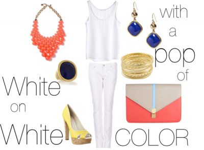 how do YOU wear white?