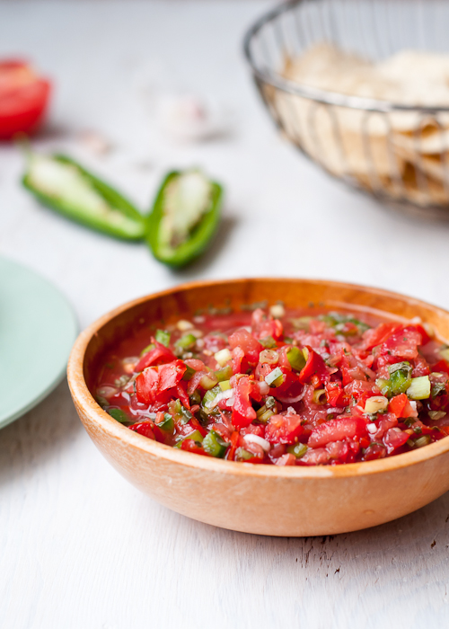 restaurant fresh salsa