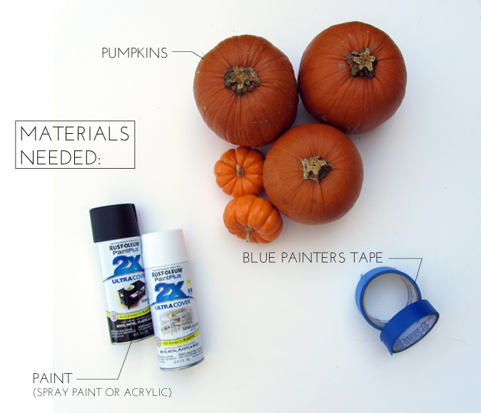 pumpkin craft supplies