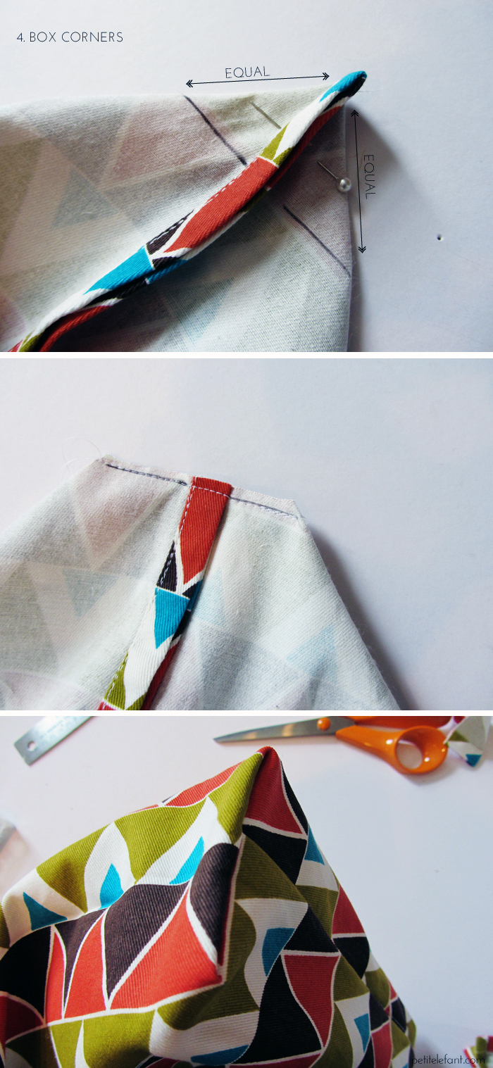 how-to sew a tote bag