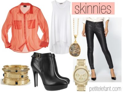 how to wear skinnies