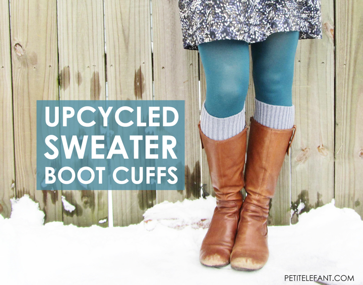 how to boot cuffs from a sweater