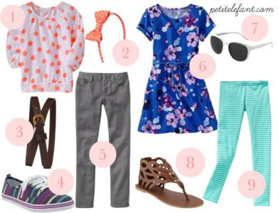 boy & girl spring fashion