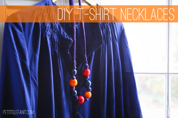 t-shirt necklace tutorial