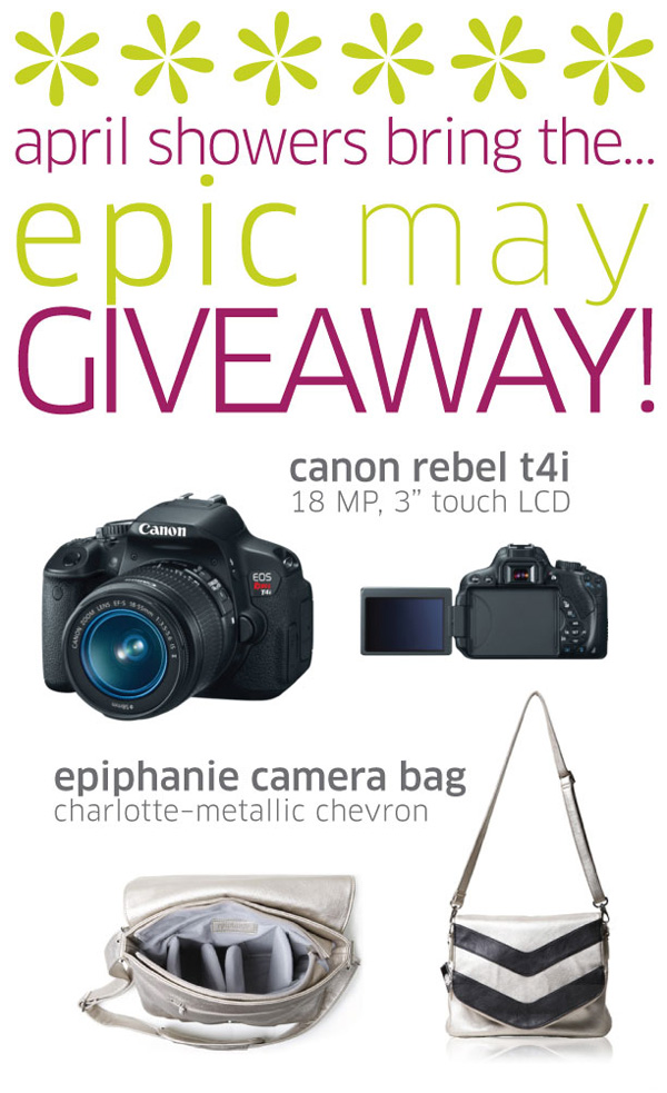 DSLR camera giveaway