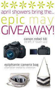 enter to win a canon camera