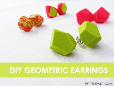 diy geometric jewelry