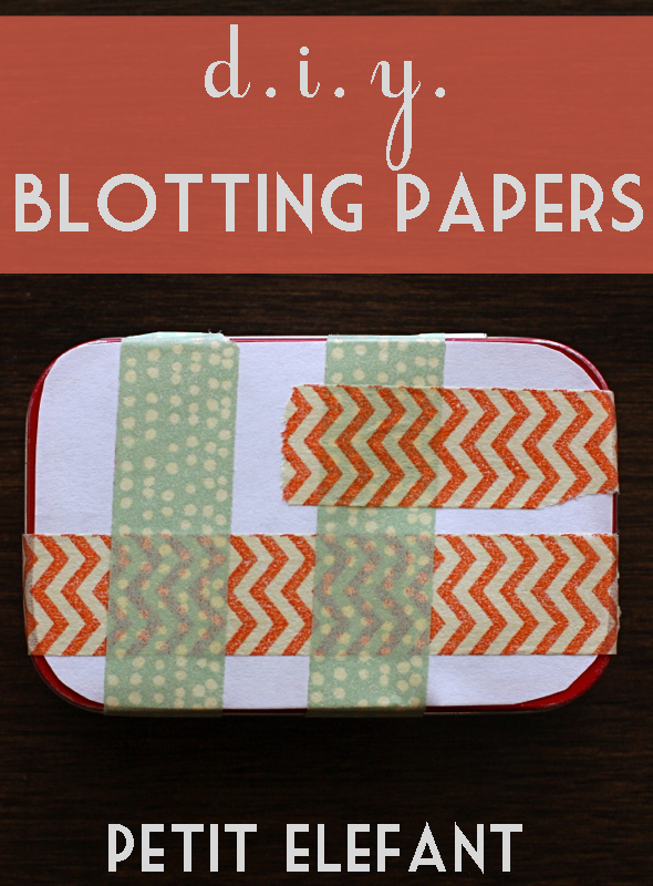 Homemade Blotting Paper