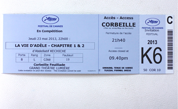 cannes film festival ticket