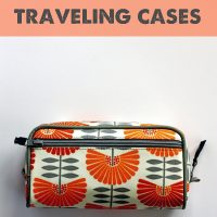 traveling toiletry cases