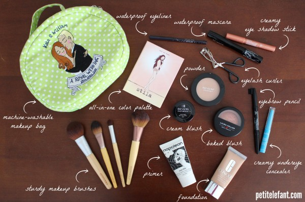How To Pack Makeup For Travel (And Break Proof It In The Process) | Petit Elefant