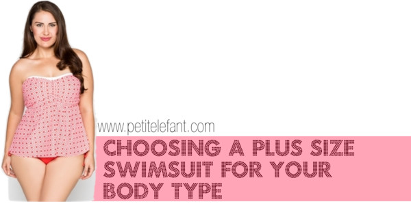 Plus size swimsuits for body types