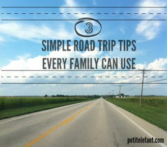 3 Simple Road Trip Tips Every Family Can Use This Summer | Petit Elefant