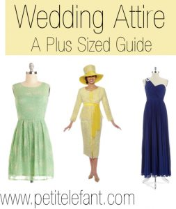 Plus Sized Wedding Attire