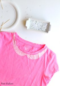 sequin peter pan collar