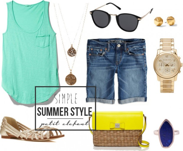 Easy Stylish Summer Outfit
