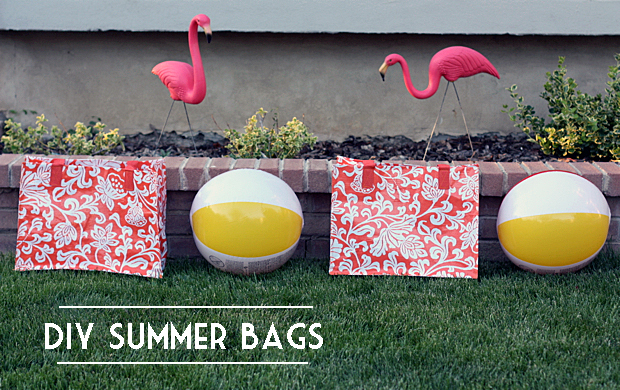 How To Make Some Fun Summer Bags For Kids