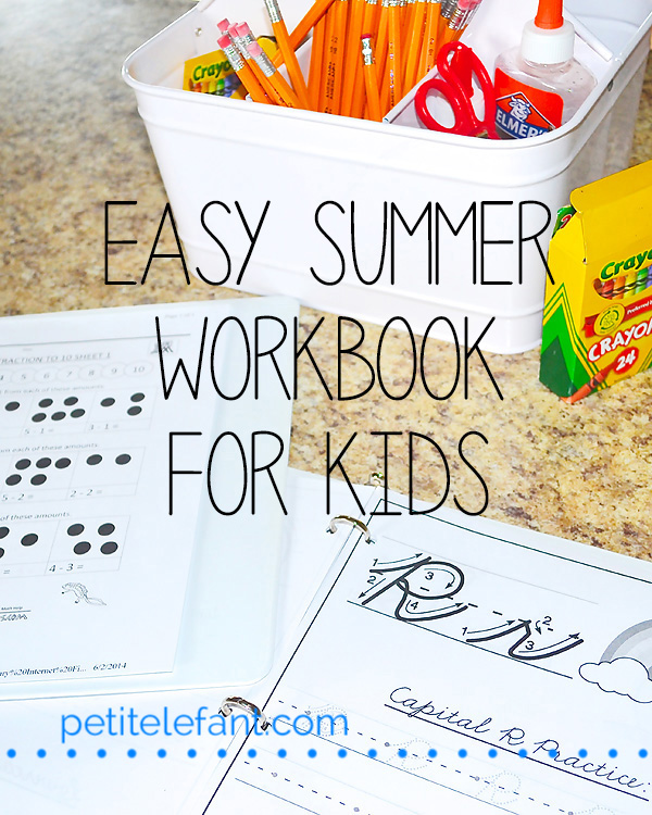 Kids Summer Activity Book
