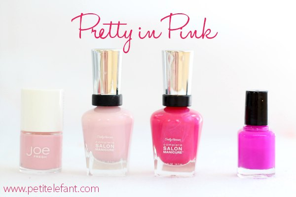 pink summer nail colors