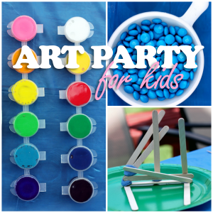 Art party for kids