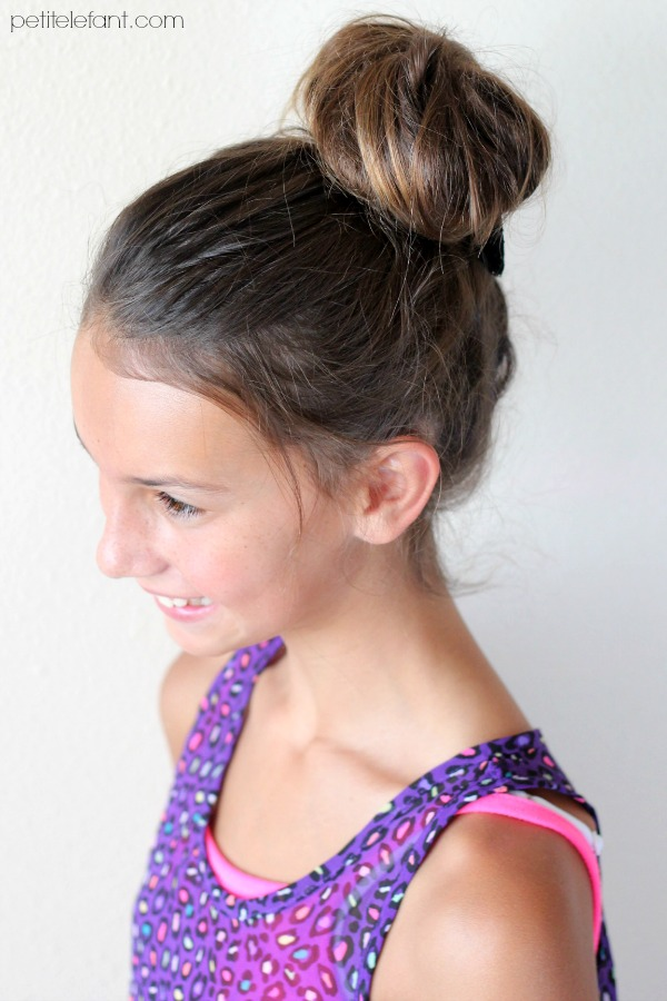 top knot for little girls