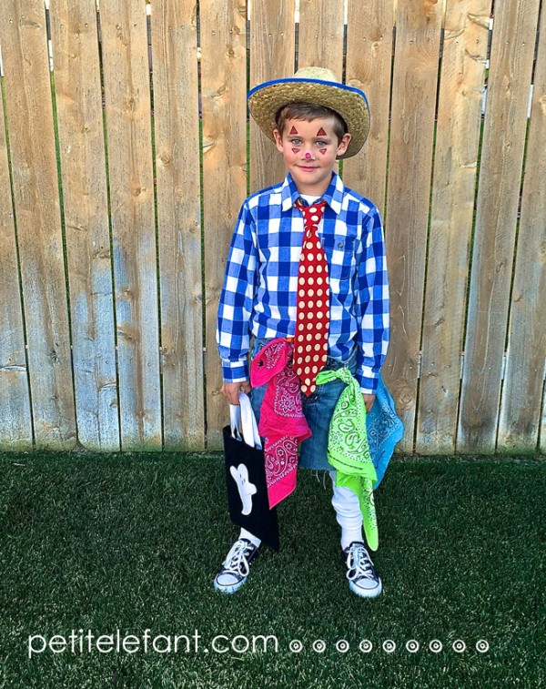 DIY Costume Rodeo Clown