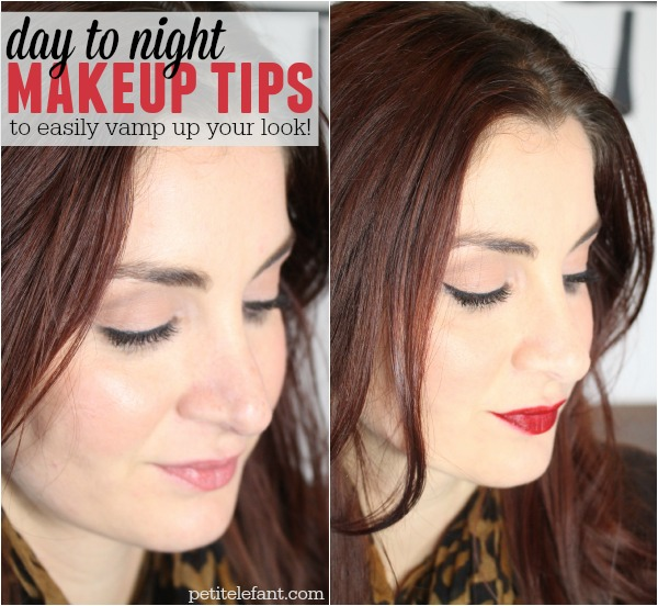 day to night makeup look