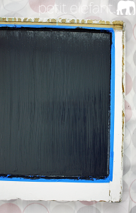 make your own DIY chalkboard