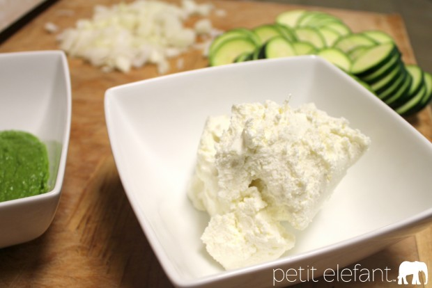Goat cheese for quesadillas