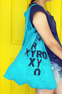 how to make a diy recycle t shirt bag