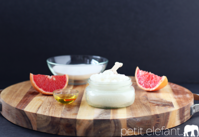 grapefruit sugar scrub
