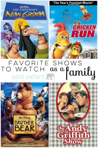 favorite family shows to watch