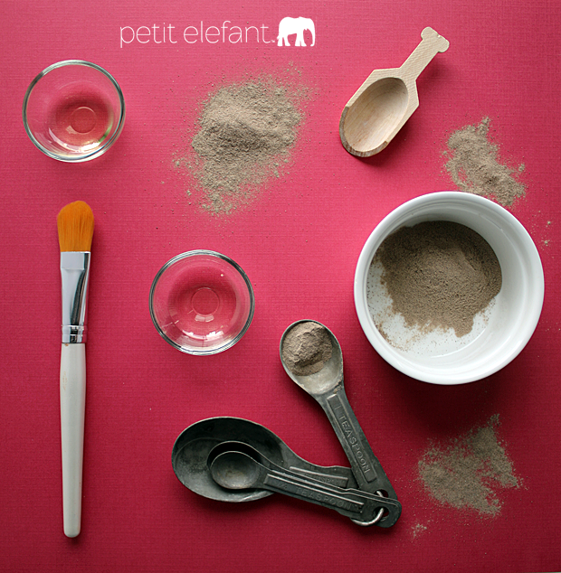 make your own clay mask