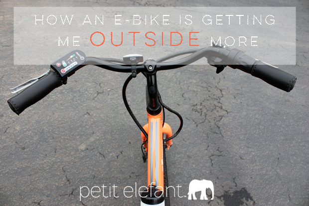 How An Electric Bike Is Getting Me Outside More