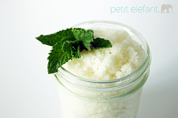 how to make your own sugar scrub