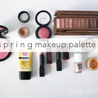spring make up palette