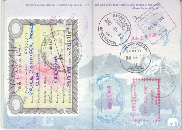 Visa Pages