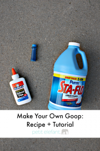 make your own gloop