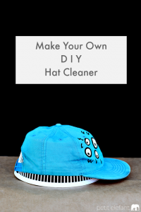 DIY hat cleaner