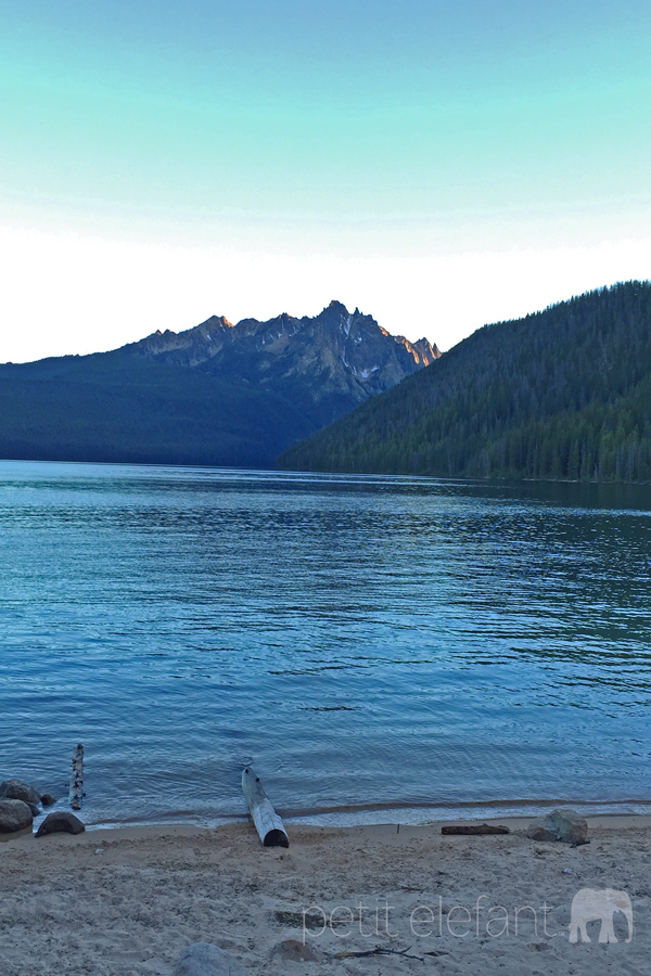 Redfish Lake at Twilight