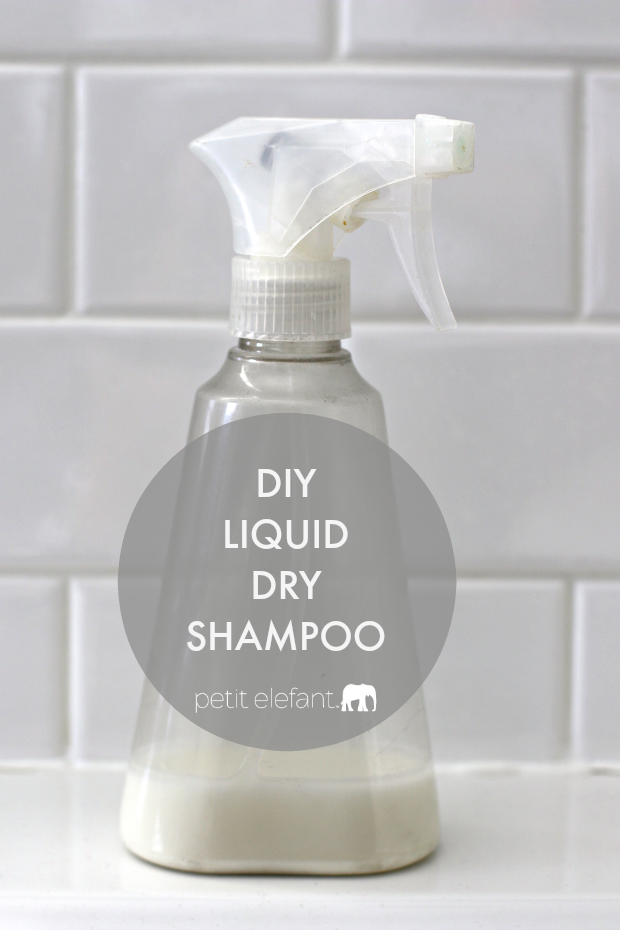 make your own liquid dry shampoo